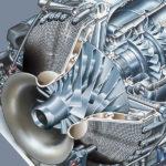Fotorealistischer Turbinenschnitt für Verkaufs- und Schulungsunterlagen