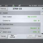 Touchscreen-GUI Designstudie – Mettler-Toledo